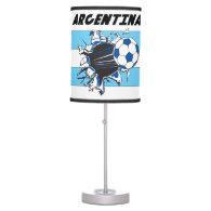 Argentina Soccer Team Table Lamp