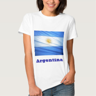 Argentina soccer tee shirt