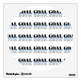 Argentina Soccer Wall Decal