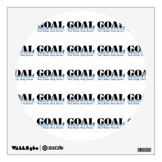 Argentina Soccer Wall Sticker