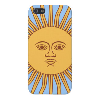 """Argentina """"Sol de Mayo"""" Case For iPhone 5"""