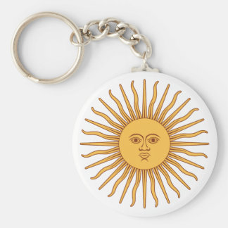 Argentina Sol de Mayo Key Chains