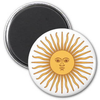 Argentina Sol de Mayo Magnet