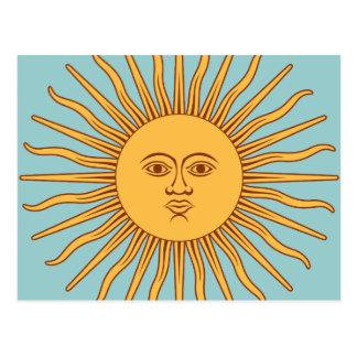 "Argentina ""Sol de Mayo"" Postcard"