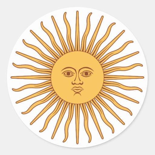 Argentina Sol de Mayo Stickers