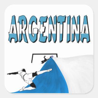 Argentina Square Sticker