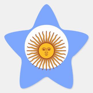 ARGENTINA STAR STICKER