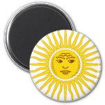 Argentina Sun Fridge Magnet