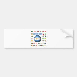 Argentina t-Shirt D7 Bumper Sticker
