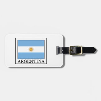 Argentina Tag For Bags