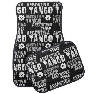 Argentina Tango Car Floor Mat