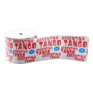 Argentina Tango Grosgrain Ribbon