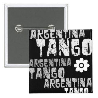 Argentina Tango Pinback Button