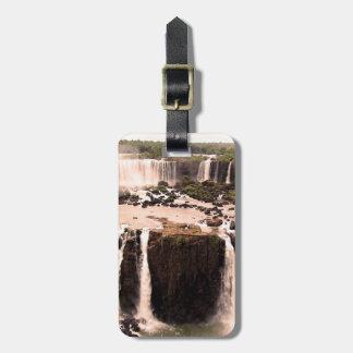 Argentina Waterfalls Bag Tags
