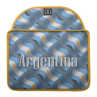 Argentina Waving Flag Sleeves For MacBook Pro