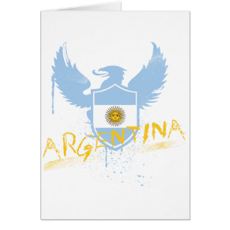 Argentina Winged Greeting Card