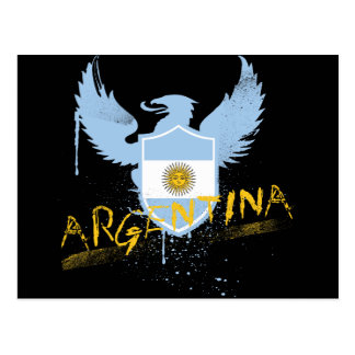 Argentina Winged Postcard