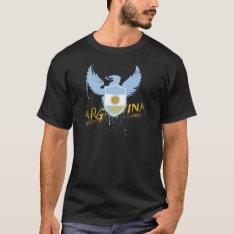 Argentina Winged T-shirt at Zazzle