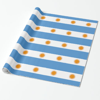 Argentina Wrapping Paper