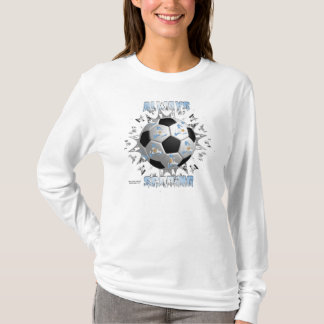 Argentine Always Scoring Ladies Long Sleeve T-Shirt