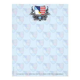 Argentine-American Shield Flag Letterhead