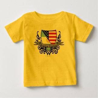 Argentine-American Shield Flag T-shirts