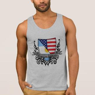 Argentine-American Shield Flag Tank Top