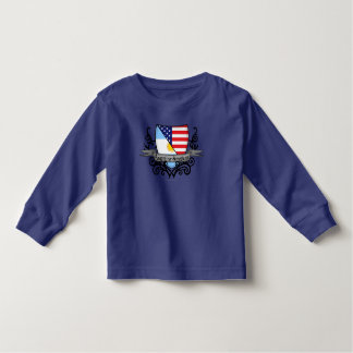 Argentine-American Shield Flag Toddler T-shirt