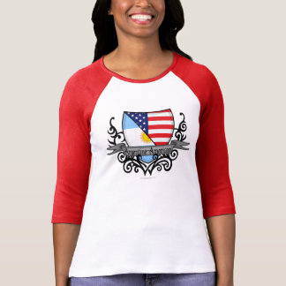 Argentine-American Shield Flag T-shirts