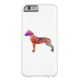Argentine bulldog 01 in watercolor-2 barely there iPhone 6 case