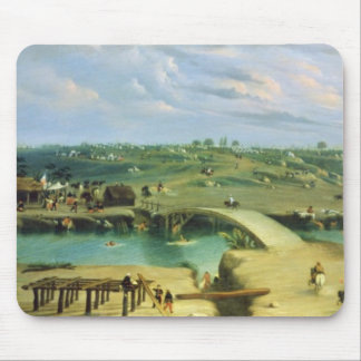 Argentine Camp on the other side of the San Lorenz Mouse Pad