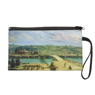 Argentine Camp on the other side of the San Lorenz Wristlet Purse