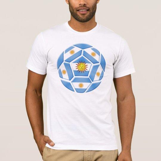 Argentine futebol Tees and soccer ball gear