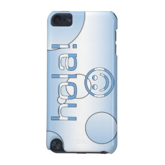 Argentine Gifts : Hello / Hola + Smiley Face iPod Touch (5th Generation) Covers