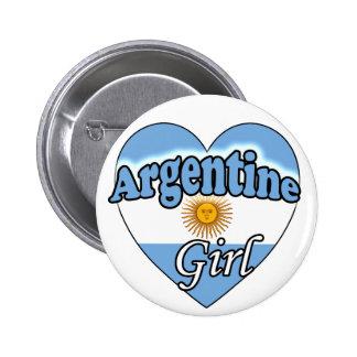 Argentine Girl Pins