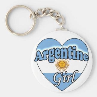 Argentine Girl Key Chains