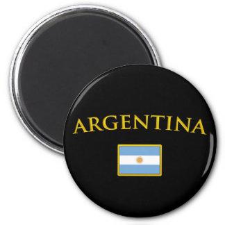 Argentine Gold 2 Inch Round Magnet