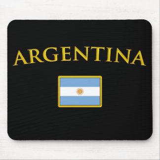 Argentine Gold Mouse Pad
