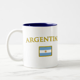 Argentine Gold Two-Tone Coffee Mug