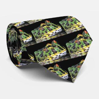 Argentine horned frog neck tie