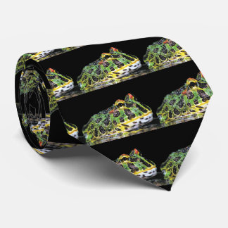Argentine horned frog tie