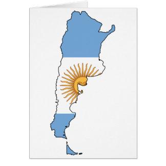 Argentine Map Card