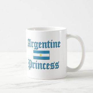 Argentine Princess Coffee Mugs