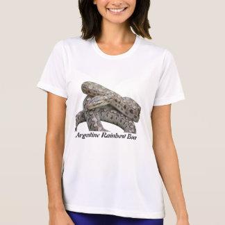 Argentine Rainbow Boa Ladies Micro-Fiber T-Shirt