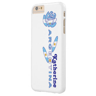 Argentine Rose Barely There iPhone 6 Plus Case