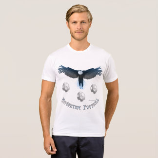 Argentine Soccer Eagle Men's Poly-Cotton T-shirt