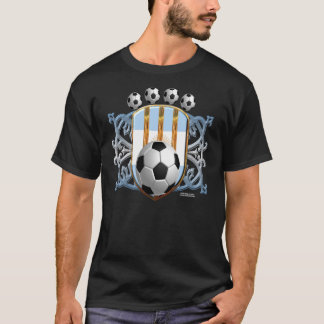 Argentine Soccer Power Men's Dark T-Shirt