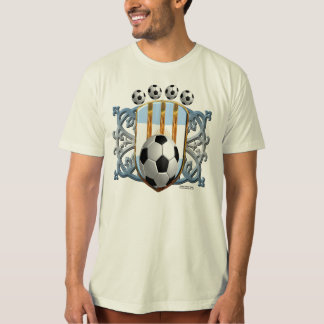 Argentine Soccer Power Men's Organic T-Shirt