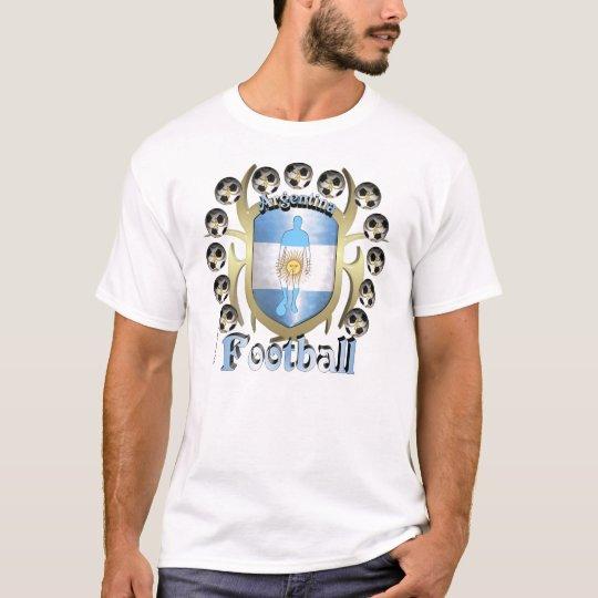 Argentine Soccer Tribal Shield Men's Tee