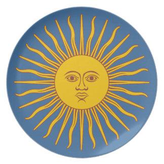 """Argentine Sun"" Plate"